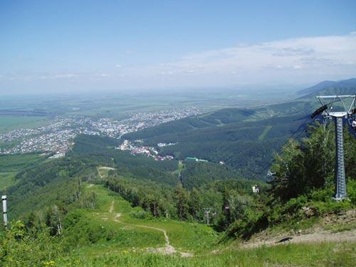 Вид с горы Церковка