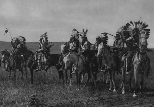 Индейцы племени брюле