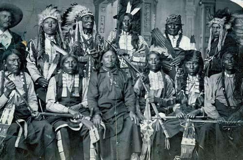 Лакоты в 1877 году