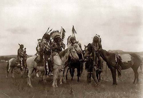 Воины лакота на тропе войны