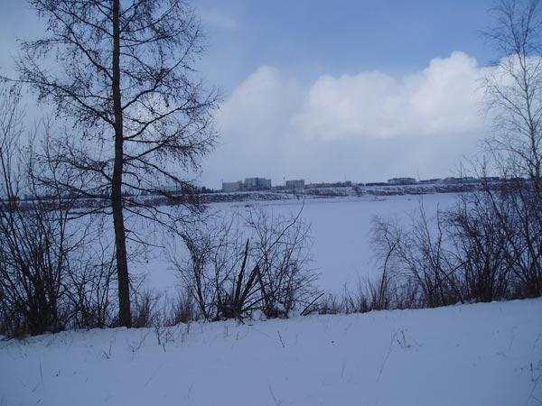 Вид с той стороны реки