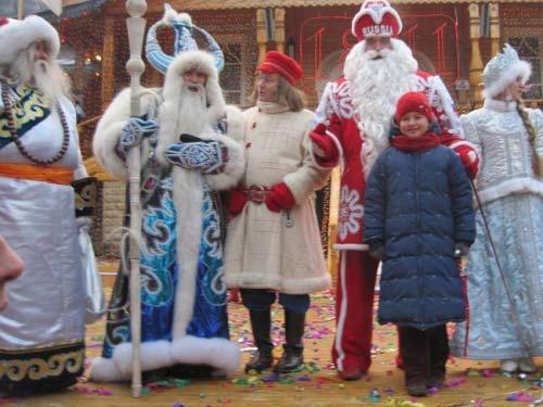 Чысхаан и Дед Мороз