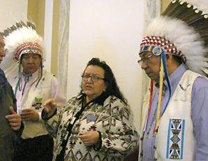 Индейцы-кроу в наши дни