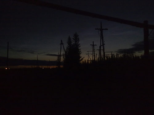 Начались темные ночи