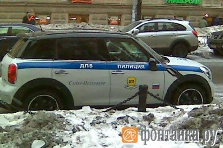 Автомобиль Пилиции :)