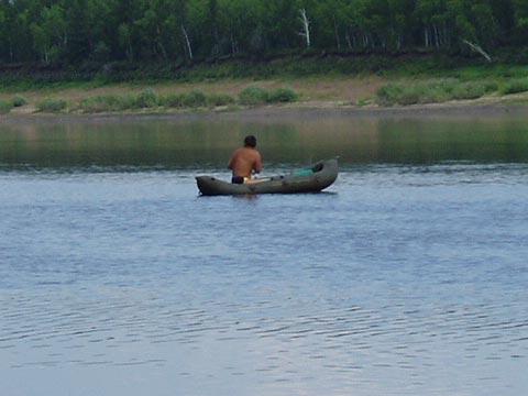 Я на лодке